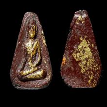 พระผงโสฬสรักแดง หลวงปู่ทิม พิมพ์พระผงสุพรรณ ปี 2503