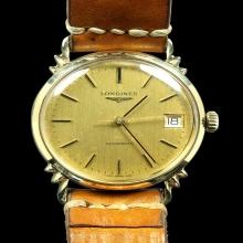 นาฬิกาข้อมือ ยี่ห้อ LONGINES  ทองหุ้ม 18 K