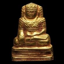 พระบุทองคำศิลปะพม่าครับ