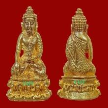 พระชัย พระพุทธวิชิตมาร วัดท่าเกวียน เนื้อทองคำ ปี 2514