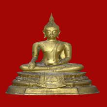 พระบูชา หลวงพ่อสัมฤทธิ์ วัดไผ่เงินโชตินาราม ปี17