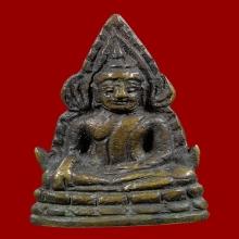 พระพุทธราชอินโดจีน สังฆาฏิยาว พิมพ์ A มีโค๊ด ปี 2485