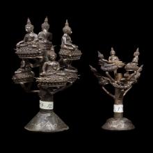 กริ่งพระพุทธประทานยศบารมี (ช่อ) เนื้อนวโลหะ อ.เฉลิมชัย
