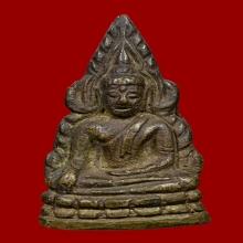 ชินราชอินโดจีน2485 พิมพ์หน้าใหญ่หลังสังฆาฏิยาว  มีโค้ต สวย