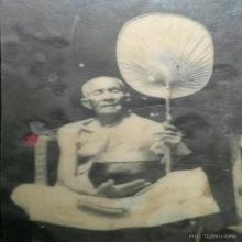 เหรียญตะกั่วลองพิมพ์รุ่นแรก ครูบานันตา วัดทุ่งม่านใต้
