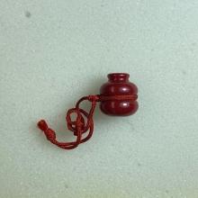 น้ำเต้ารุ่นแรก หลวงพ่อสด วัดปากน้ำ สีแดง