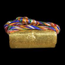 ตะกรุดโลกธาตุ เนื้อทองคำ หลวงพ่อพระมหาสุรศักดิ์ วัดประดู่