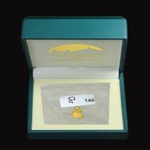 พระรูปหล่อหลวงพ่อทวด พิมพ์จิ๋ว (เบตง3) เนื้อทองคำ ปี2554