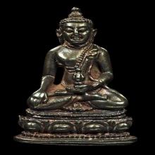 พระกริ่งวัชระ วัดนิคมวชิราราม เนื้อนวโลหะ ปี 2513 จ.เพชรบุรี