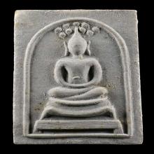 หลวงปู่โต๊ะ พระสมเด็จเยือนอินเดีย พิมพ์ใหญ่ ปี2519 เนื้อเกสร