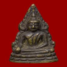 พระพุทธชินราช อินโดจีน พิมพ์ C ปี 2485 โค๊ดครบ