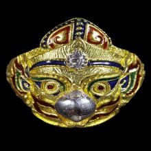 แหวนครุฑ รุ่นพญาครุฑบูชามหาบารมี เนื้อทองคำลง