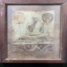 รูปถ่ายซีเปียหลวงพ่อเงินวัดบางคลานรุ่นแรก