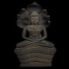 พระบูชาพระพุทธวชิรมงคล วัดพลับพลา รุ่นแรก ปี 2519 หายาก