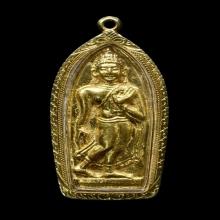 พระลีลาทุ่งเศรษฐีหน้าทองคำ หลวงพ่อเต๋ คงทอง วัดสามง่ามนครปฐม
