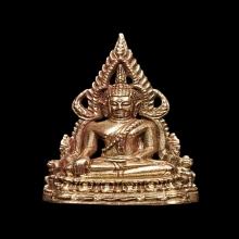 พระพุทธชินราช พิมพ์เล็ก กรรมการ เนื้อนาค
