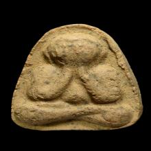 พระปิดตาหลวงปู่ทิม รุ่นมิตซูบิชิ วัดละหารไร่ ปี2514