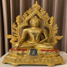 พระบูชา ภ.ป.ร.พระพุทธมงคลรัตน์ภูมิพัฒนมหามุนีวัดมงคลฯปี2523