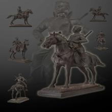 พระบรมรูปพระนเรศวรมหาราชทรงม้าสูง ๑๘ นิ้ว รุ่นเพชรกลับ ๒๕๔๔