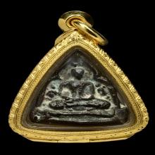 ชัยวัฒน์สามเหลี่ยม วัดราชบพิธ เนื้อสำริด 2466