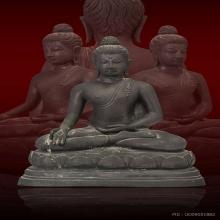 พระพุทธรูปปางประทานพร วัดจุฬามณี พ.ศ.๒๕๑๑ หน้าตัก ๗ นิ้ว
