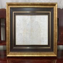 ผ้ายันต์พัดโบกยุคต้นเขียนมือ หลวงปู่ทิม อิสริโก วัดละหารไร่