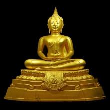 พระบูชาพระพุทธนิรโรคันตรายชัยวัฒน์จตุรทิศ วัดมงคลชัยพัฒนา