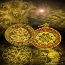 พระเทวราชโพธิสัตว์จตุคามรามเทพ เนื้อทองคำ