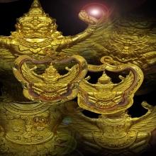 พญาครุฑ ทองคำ หลวงพ่ออ่าง วัดใหญ่สว่างอารมณ์