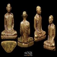 หลวงพ่อเดิม รุ่นแรก พิมพ์ 4 พ.ศ. 2482 เนื้อทองเหลือง