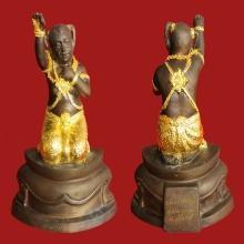 กุมารพ่วงเพชร (รุ่นบันดาลทรัพย์) No.74 หลวงปู่หงษ์