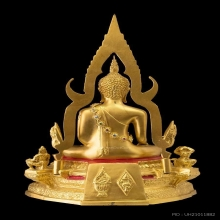 องค์ที่ ๑ พระพุทธชินราชจำลอง รุ่น(ภปร.) ปฏิสังขรณ์ รุ่น ๒