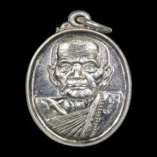 หลวงปู่หมุน เหรียญเล็กหน้าใหญ่ เนื้อเงิน No.28