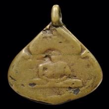 เหรียญหล่อ หลวงพ่อพัด วัดโขดเขมาราม  พ.ศ 2467
