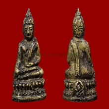 พระชัยวัฒน์หลวงพ่อแฉ่ง วัดบางพัง จ.นนมบุรี+เลี่ยมทอง