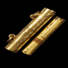 ตะกรุดทอง หลวงปู่ยิ้ม วัดหนองบัว กาญจนบุรี