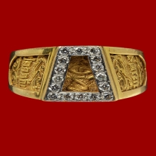 เบ็น วิเศษฯ...แหวนเนื้อทองคำ ฝังเพชรแท้