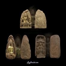 Phuthravadee Kanaen set พระคะแนน ภูธราวดี ชุด 3 องค์