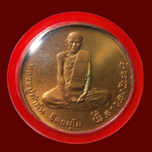 เหรียญรุ่นแรก หลวงปู่คำตัน ฐิตธมโม ปี ๓๙
