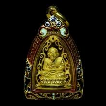 หลวงพ่อทวดเตารีดทองคำศิลป์งดงามมากๆวัดประสาทฯ