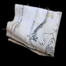 ผ้ายันต์ม้าเสพนางยุคต้นครูบาต๋า วัดบ้านเหล่า (คุณรุ่งรัตน์)