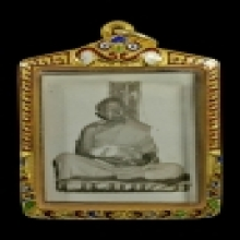 รูปถ่ายนั่งหลังพิงเสา ปี2513 หลวงปู่ทิม วัดละหารไร่