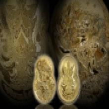 เหรียญกริ่งหนุมานอารยะสถาปัตย์ เนื้อทองระฆังเล็กเบอร์282