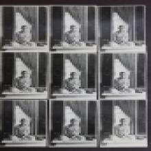 ภาพในหลวงทรงผนวช ด้านหลังปั๊มตราวัดบวรนิเวศวิหาร ปี 2508