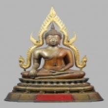 พระพุทธชินราชวัดวังทอง จ.พิษณุโลก 9นิ้ว ปี2514