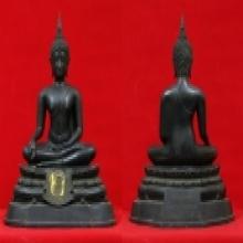 พระบูชา ภปร กฐินต้น ปี ๒๕๐๖ วัดเทวสังฆาราม หน้าตัก 9 นิ้ว
