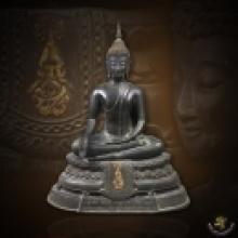 พระบูชา ภปร.ปี 2508 วัดบวรนิเวศ หน้าตัก 5 นิ้ว