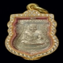 เหรียญเลื่อนสมณศักดิ์ หลวงปู่ทวดเนื้ออัลปากา เเชมป์