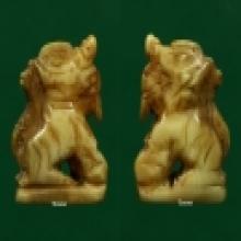 ราชสีห์เขี้ยวเสือแกะหลวงปู่บุญ วัดกลางบางแก้ว จ.นครปฐม
