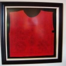 เสื้อยันต์ (ราชสิงห์ 5 ตัว ) หลวงพ่อจง วัดหน้าต่างนอก อยุธยา